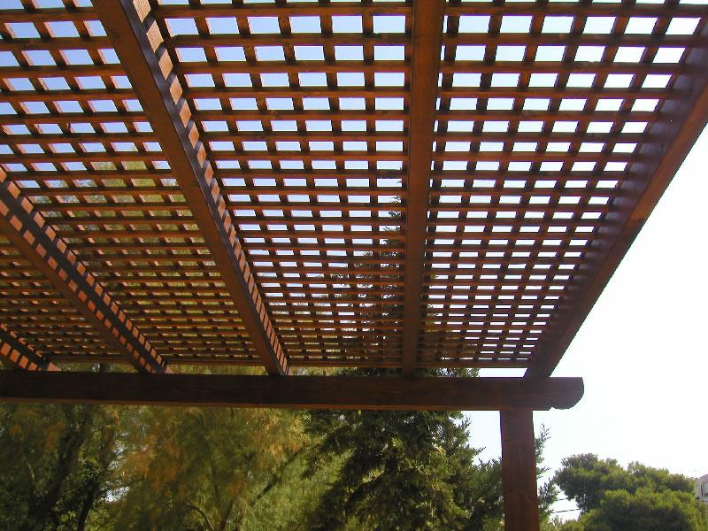 Πλανισμένα πηχάκι & καδρονάκια για κατασκευή καφασωτού