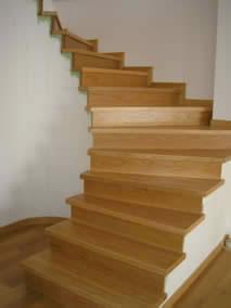 Πάτωμα παρκέ σκάλα δρυς
