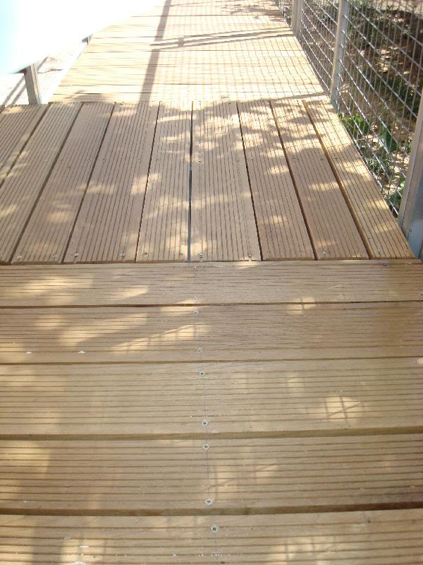 Deck από δρυς