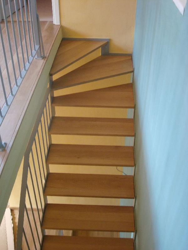Πατήματα σκάλας από μασίφ ξυλεία δρυός