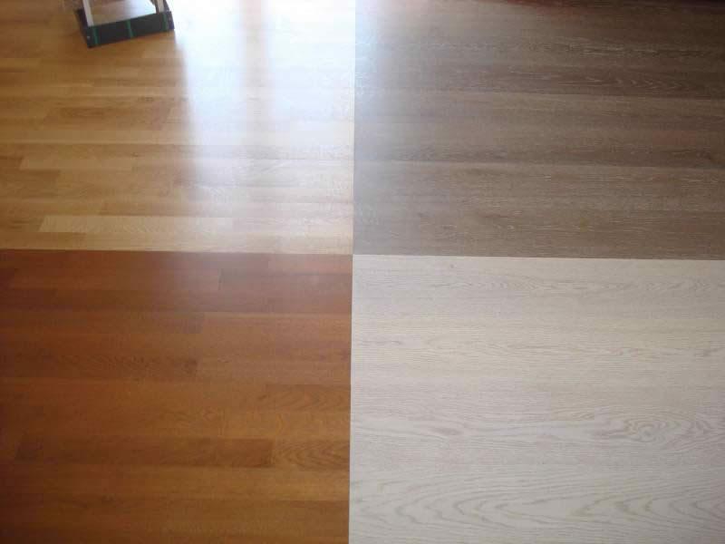 Πάτωμα προγυαλισμένο σε διάφορες αποχρώσεις