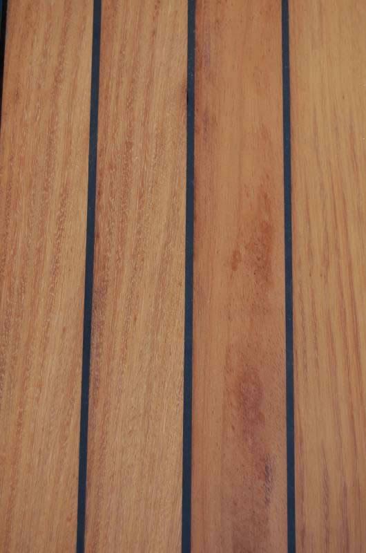 Deck εξωτερικού χώρου  με ελαστομερής σφράγιση